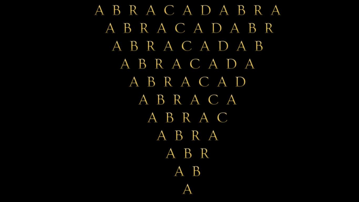 Abracadabra : Je créerai d´après mes paroles